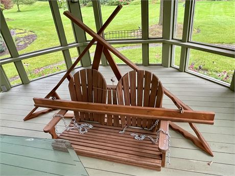 Porch Swing on Stand