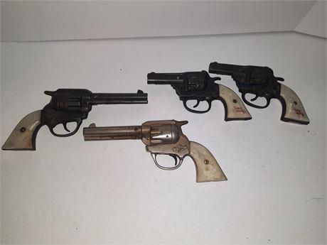 Vintage Gene Autry Cap Gun Lot