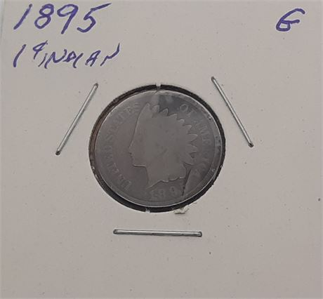 1895 Indian Head Penny