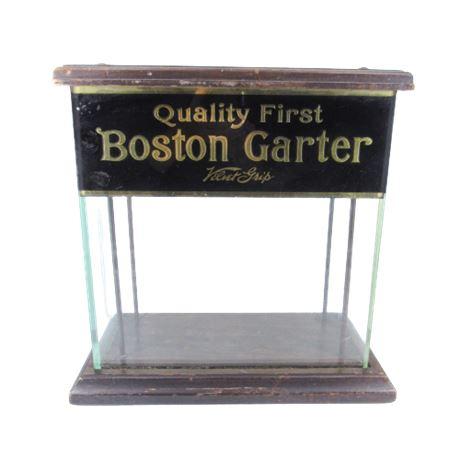 Quality First Boston Garter Glass Display Case