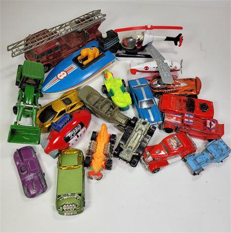 Vintage Toy Cars Lot