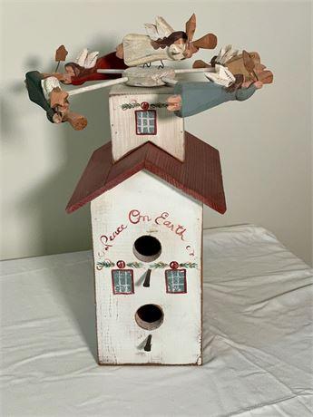 """Musical Bird House """"Peace On Earth"""""""