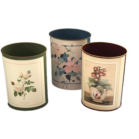 Decorative Waste Can Grouping