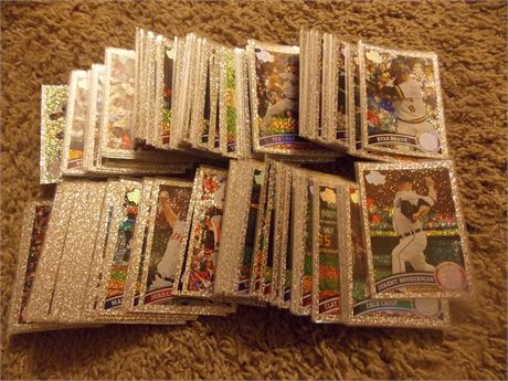 2011 Topps Diamond Anniversary cards - lot of 194 different