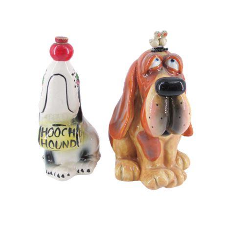 Ceramic Dog Figure / Coin Bank