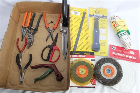 Pruners, Carbide Cutter, Wire Wheel Brushes, Extension Cord and More