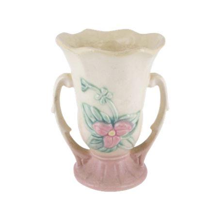 Hull Pottery W-3 Art Wild Flower Vase
