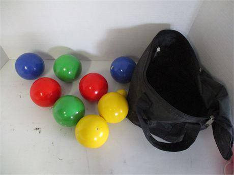 Bocce Ball Set with Bag