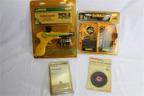 Cable Caster Wire Pulling Tool, DeWalt 16 Pc. Drill Bit Set & More