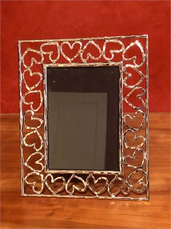 Michael Aram Silver Hearts Picture Frame